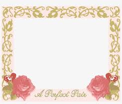 wedding frame transpa png pictures free