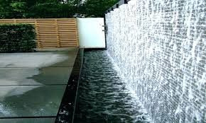 R Outdoor Water Wall Fountain Large Fountains Outdo  Feature Design