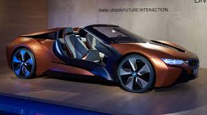 BMW Convertible bmw future commercial : This BMW i8 concept previews the future of car electronics | Top Gear