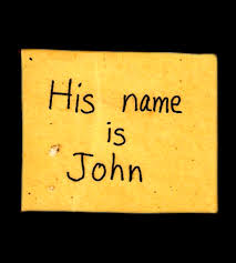 the passionists his is john
