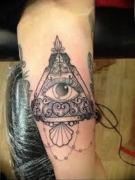 Photo Eye In Triangle Tattoo 03032019 042 Idea For Eye In