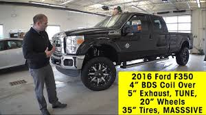 2016 ford f350 super duty sel w 4 inch bds coil over spring lift kit 35 g exhaust tune you