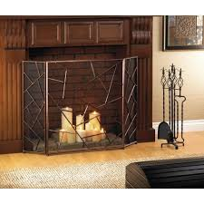 modern geometric fireplace screen retail 99 95 description wow make your fireplace the center of attention with this stunning iron screen