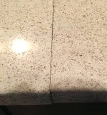 granite and quartz repairs in countertop seams seam repair