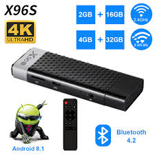 Android 8.1 TV Box X96S TV Stick Amlogic S905Y2 DDR3 4GB 32GB X96 Mini PC  5G WiFi Bluetooth 4.2 HD Smart TV Dongle Media Player - buy at the price of  $38.00