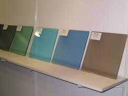 smoked glass sheet