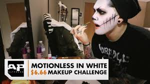 the 6 66 makeup challenge with ghost of motionless in white