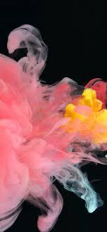 Liquid Colors Pink & Yellow