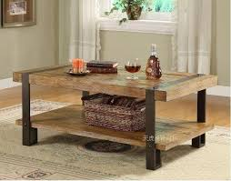 wood and wrought iron furniture. American Retro Furniture , Wrought Iron Furniture, Rustic Made Of  Solid Wood Coffee Table LOFT Old Europe-in Bar Tables From And AliExpress