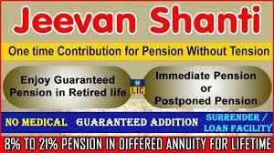 Jeevan Sathi Lic Plan Chart Lic Jeevan Shanti Plan No 850 Lic