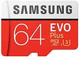 Samsung EVO Plus 64GB 100MB/s microSDXC UHS-1