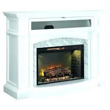 white corner fireplace tv stand white