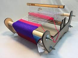 diy laser cut rigid heddle loom part 2 weaving with the rigid heddle loom
