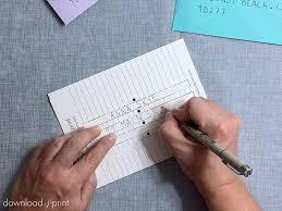 Envelopes Address Print Free Printable Envelope Addressing Template