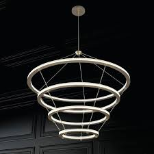 halo chandelier