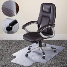 office chair mat for carpet uk. pvc home office chair floor mat studded back with lip for standard pile carpet uk