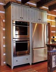 double oven cabinet. Fridge And Wall Oven Double Cabinet E