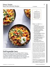 Cooking Light Online Recipes