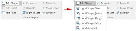 Using The Organizational Chart Tool Microsoft Word 2016