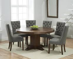 torino 150cm dark solid oak round pedestal dining table with anais 52977 octagon 12 02 2016