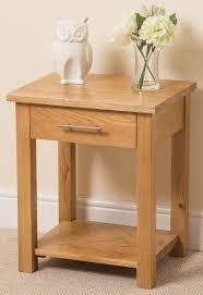 Lamp Tables For Bedroom Oslo Solid Oak Lamp Table Oak Furniture King