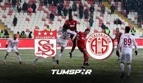 Sivasspor Antalyaspor maçı ne zaman, saat kaçta, hangi kanalda? | Sivas  Antalya muhtemel 11'ler - Tüm Spor Haber