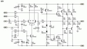 simple 300w subwoofer power amplifier wiring circuit diagram 300w subwoofer power amplifier wiring diagram
