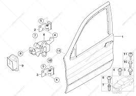 Front door hinge door brake for bmw x5 e53 x5 4 6is sav usa ford explorer sport trac door diagram bmw x5 4 4i engine diagram door latch parts diagram on