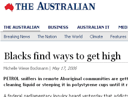 racism in aboriginal creative spirits article in the n headline blacks ways to get high reporting