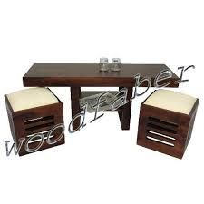 woodfaber two seater coffee table