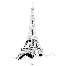 Croquis Tour Eiffel Laspromcloset Com