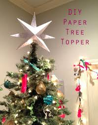 Diy Christmas Tree The Happy Homebodies Diy Paper Star Christmas Tree Topper