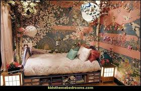 oriental themed bedroom decorating ideas-theme rooms