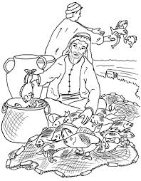 Fishers Of Men Coloring Pages 237805