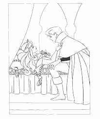 Small Picture Sleeping Beauty Coloring Pages