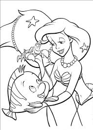 Small Picture Ariel With Pearls Coloring Page Cartoon pages of