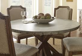 54 inch round dining table with glass top and pedestal view larger