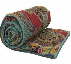 Patchwork Quilts, Bedlinen, Bedspreads & tropical bedspread closeup Adamdwight.com