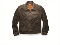 levi s brown leather sherpa trucker jacket full size