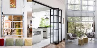 residential glass door interior
