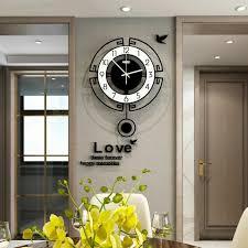 digital pendulum wall clocks living