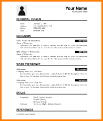 Formats Of A Resume Delectable How To Make A Resumersimple Resume Format Pdf Download Free How To