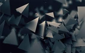 best 3d wallpapers for laptop. Interesting Wallpapers 3D Triangles Dark Wallpaper Throughout Best 3d Wallpapers For Laptop