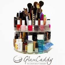 glam caddy rotating cosmetic organizer review
