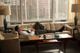 don draper office. In Season 6, Don Draper (played By Jon Hamm) Stretches Out On His Office R