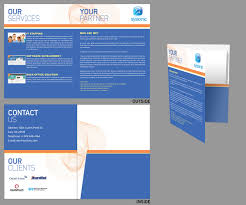 Serious, Elegant, Software Brochure Design For A Company By Mcky ...