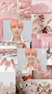 Rose Gold Bts Pink Aesthetic Wallpaper
