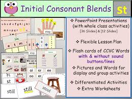 Initial Consonant Blends Clusters- CCVC Words Bundle 2 by ...