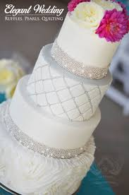 Rosette Ruffle Wedding Cake | Artisan Cake Company | Cakes to ... & The rosette ruffle cake is a popular trend in wedding cakes right now!  Paired with a modern style of quilting and silver pearls, an elegant  wedding cake is ... Adamdwight.com