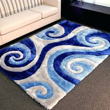 area rugs blue blue white